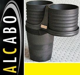 【M's】F80/F30/F31/F34 3シリーズ ALCABO ドリンクホルダー BK_画像1