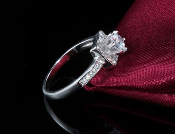 豪華 0.40ct 3本組セット 重ね付け 結婚指輪 パヴェリング_画像6