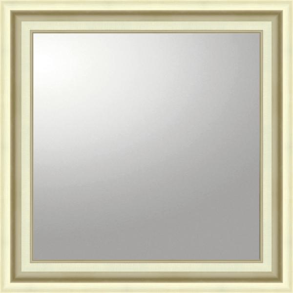 デコラティブ 大型ミラー モダン「正方形(シルバー)」_画像1
