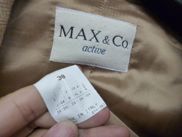 マックス&コー MAX&Co. active ジャケット_画像2