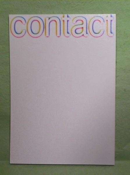 A-1【パンフ】劇団四季ミュージカル contact コンタクト 2007.1