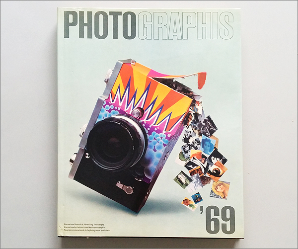 【PHOTOGRAPHIS 69 : international annual of advertising photography.】検:洋書写真集1969年_画像1