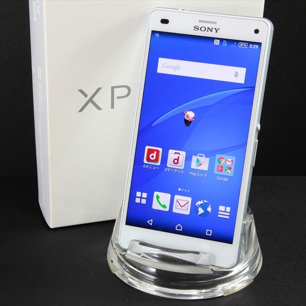 【送料無料】Xperia Z3 Compact SO-02G White■docomo★Joshin4292