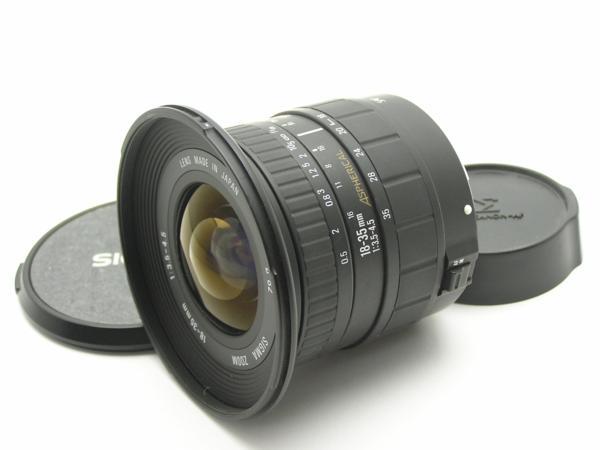 ★ハロ-カメラ★5182 Canon用 SIGMA ZOOM 18-35mm F3.5-4.5 フィルムカメラ専用 ジャンク 要清掃