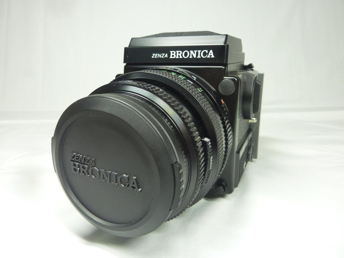 ☆ZENZA BRONICA 中判カメラ ETR Si & レンズ/フィルムバック/テレコンバーター/ファインダーSET☆ジャンク