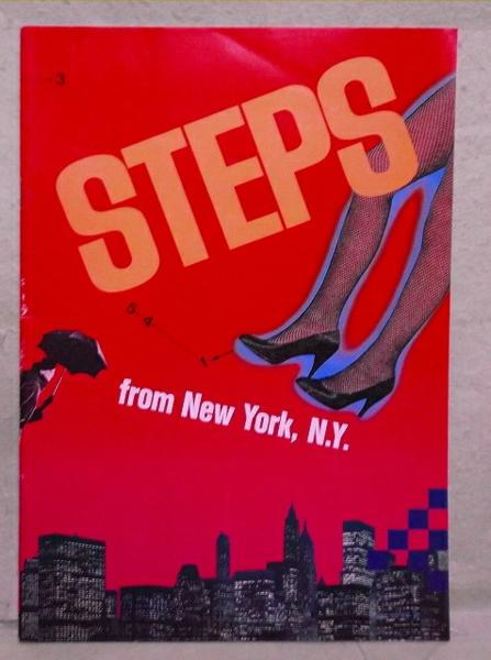 A-11【パンフ】STEPS from New York,N.Y. 渡辺香津美
