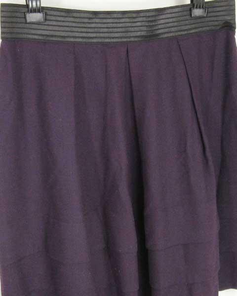 値下げ アンタイトル UNTITLED パープル スカート 44_画像4