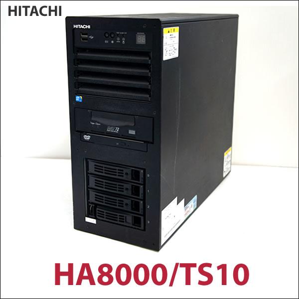 送料無料 BIOS動作確認済 HITACHI HA8000/TS10 Xeon X3430 2GB 136GB×3 OSなし ジャンク扱い_画像1