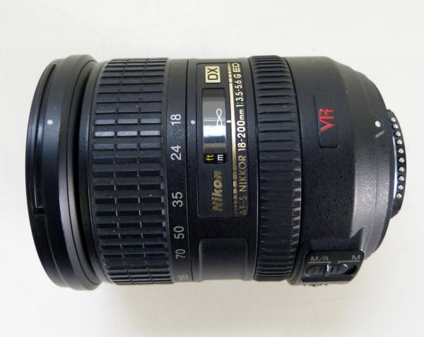 ☆NIKON AF-S NIKKOR 18-200mm f3.5-5.6 G ED フード付 used☆_画像2