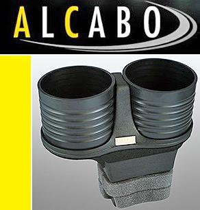 【M's】ベントレー フライングスパー/コンチネンタルGT(2003y-2010y)ALCABO 高級 ドリンクホルダー(ブラック)//GTC GTスピード AL-B201B_画像1