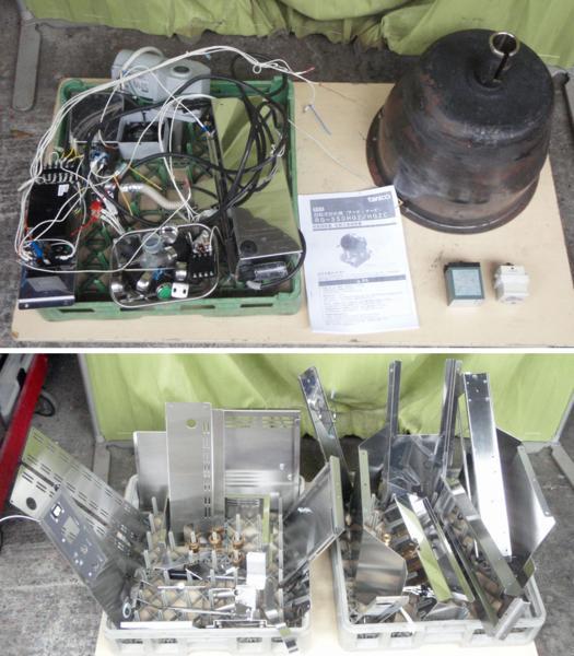 ◆分解清掃整備済!タニコー都市ガス回転式炒め機RG-350HG2C◇_画像3