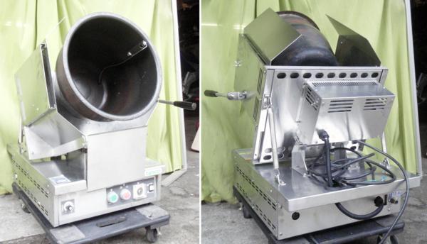 ◆分解清掃整備済!タニコー都市ガス回転式炒め機RG-350HG2C◇_画像1