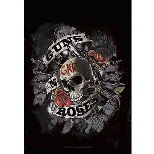 海外限定 公式 Guns N' Roses ガンズ 特大布ポスター G98