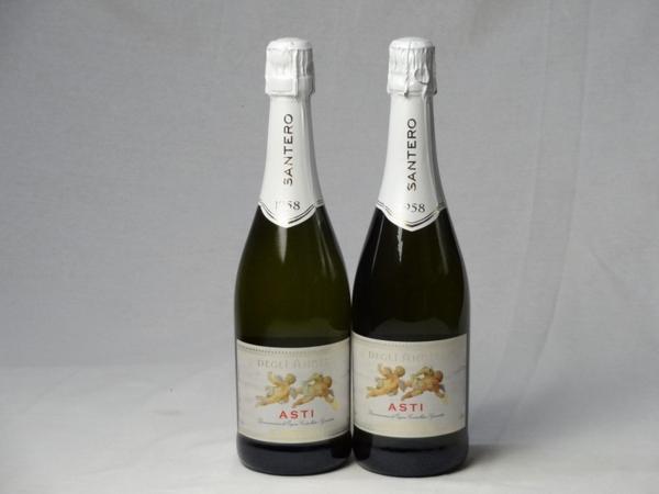スパークリングワイン甘口2本セット 天使のアスティ・スプマン_画像1
