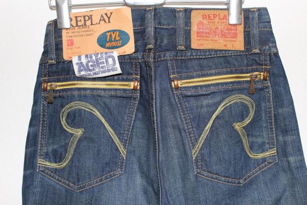 リプレイ REPLAY MV903 メンズデニムパンツ ジーンズ 29インチ 新品_画像6