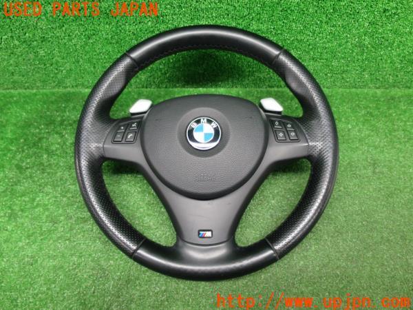 3UPJ=33570617]BMW130i(E87)Mスポーツ純正 ステアリング パドル