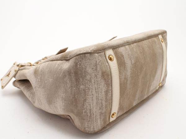 1円 プラダ イタリア製 ショルダー トート バッグ メンズ レディ―ス ビジネス レザー A4 通勤 鞄 ハンド 革 本革 書類 ブリーフケース 803_画像7