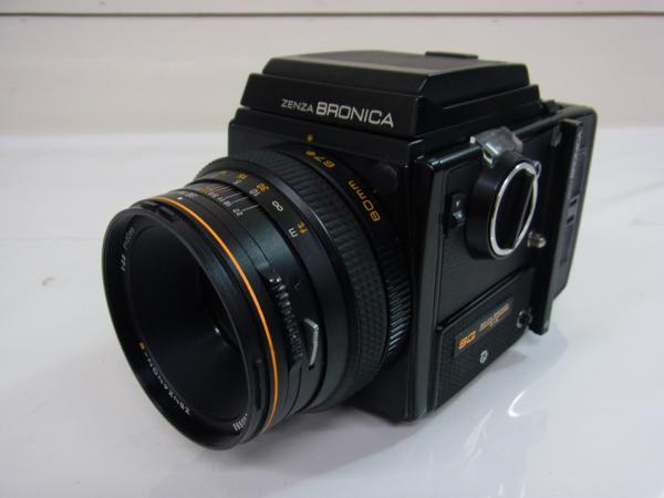 /ZS111  ZENZA BRONICA SQ  ZENZANON-S 1:2.8 f=80mm   動作未確認