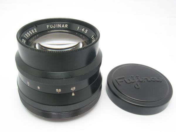 ★ハロ-カメラ★5807 富士写真光機(FUJINAR 18cm F4.5)国産大判用レンズ 良品級