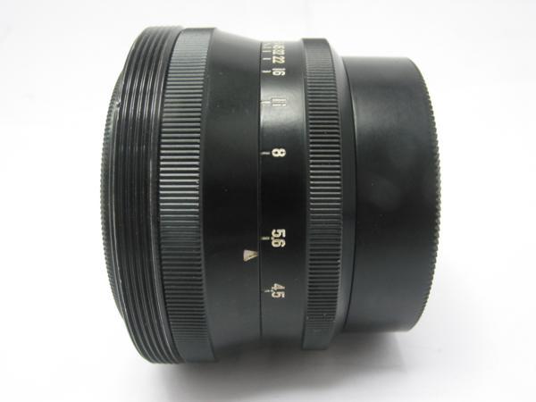 ★ハロ-カメラ★5807 富士写真光機(FUJINAR 18cm F4.5)国産大判用レンズ 良品級_画像3