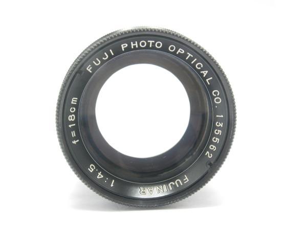 ★ハロ-カメラ★5807 富士写真光機(FUJINAR 18cm F4.5)国産大判用レンズ 良品級_画像5
