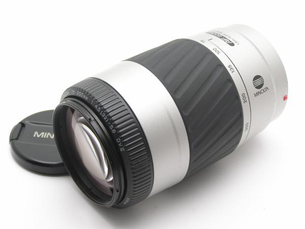 ★ハロ-カメラ★5838 MINOLTA AF ZOOM 75-300mm F4.5-5.6 DVⅡ 動作品 難有 現状