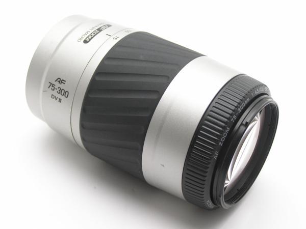 ★ハロ-カメラ★5838 MINOLTA AF ZOOM 75-300mm F4.5-5.6 DVⅡ 動作品 難有 現状_画像2