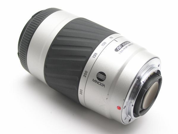 ★ハロ-カメラ★5838 MINOLTA AF ZOOM 75-300mm F4.5-5.6 DVⅡ 動作品 難有 現状_画像8