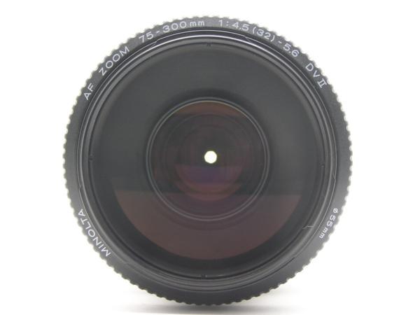 ★ハロ-カメラ★5838 MINOLTA AF ZOOM 75-300mm F4.5-5.6 DVⅡ 動作品 難有 現状_画像3