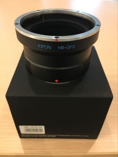 KIPON ハッセルHasselblad V マウント レンズーFujifilm GFX 50S HB-GFX
