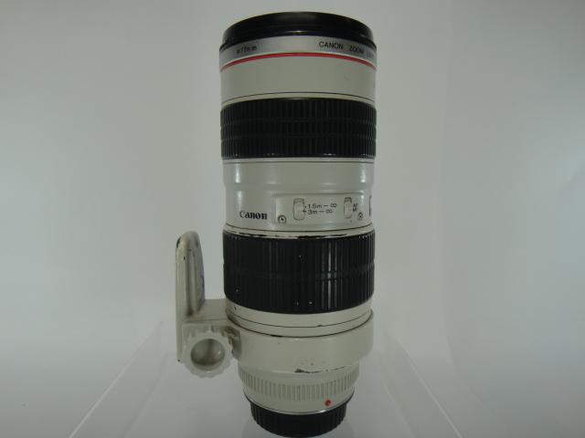 【中古品】Canon EF70-200mm F2.8L USM 望遠ズームレンズ