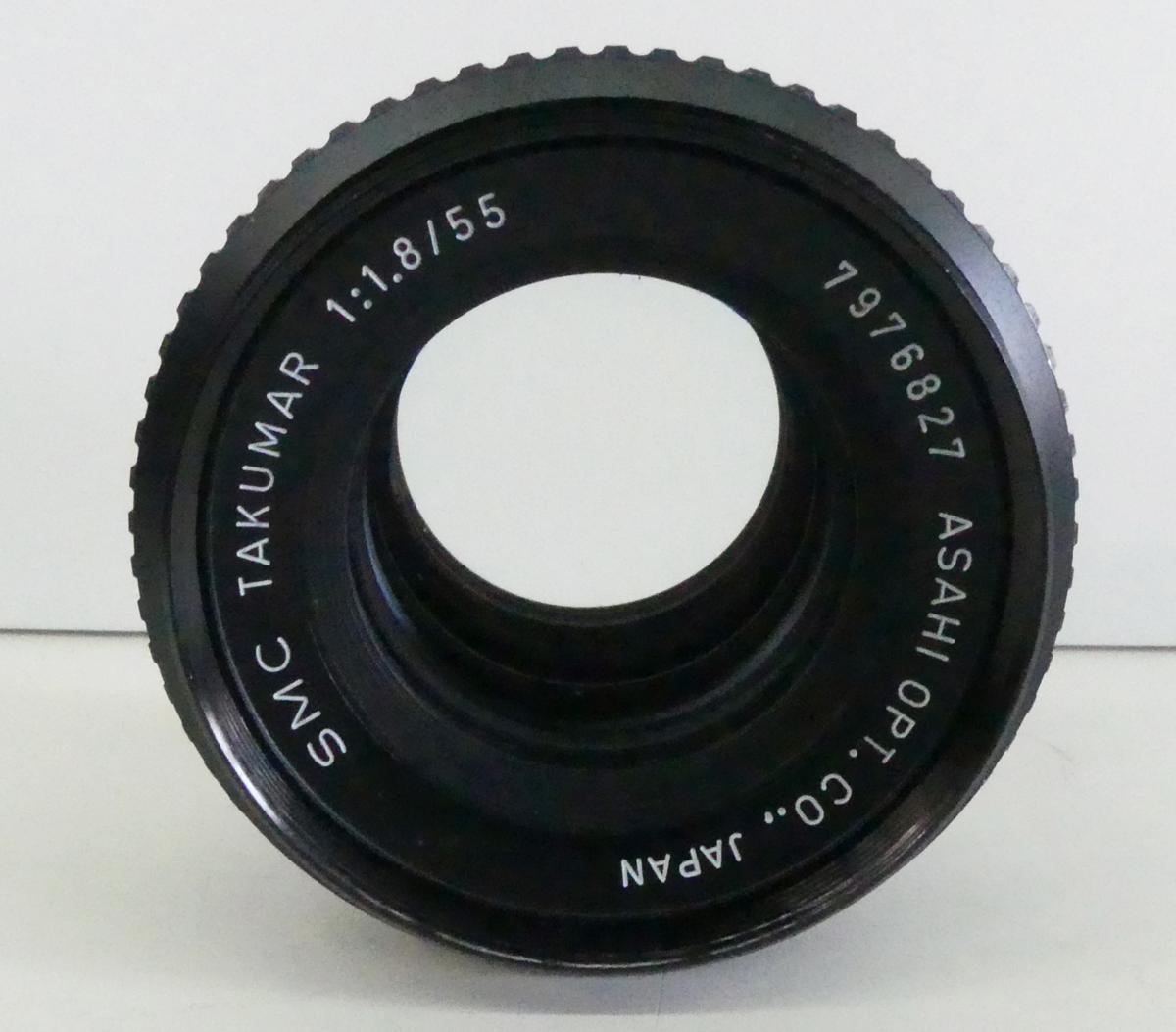 ☆PENTAX ペンタックス SMC TAKUMAR 55mm F1.8 USED☆_画像1
