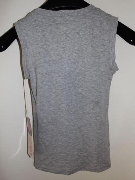 キャメロンハワイ Cameron Hawaii レディースノースリーブTシャツ グレーSサイズ 新品_画像5