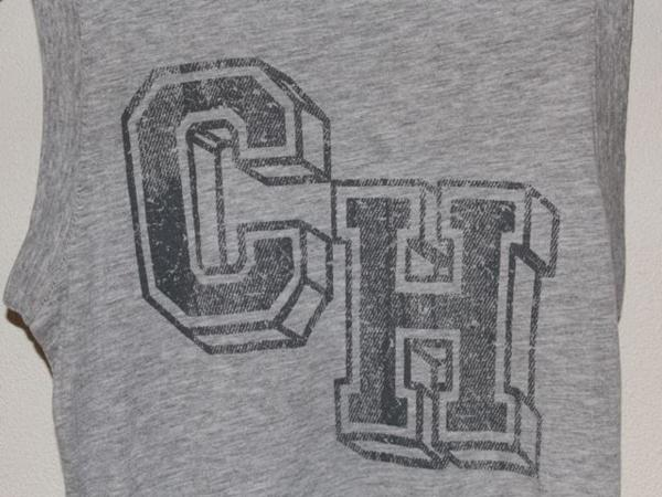 キャメロンハワイ Cameron Hawaii レディースノースリーブTシャツ グレーSサイズ 新品_画像3