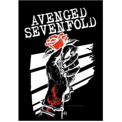 海外限定 公式 Avenged Sevenfold A7X 特大布ポスター G173
