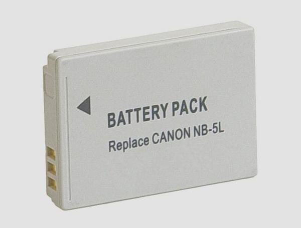 キャノン NB-5L 対応バッテリー PowerShot S100/S110/SX230 HS等