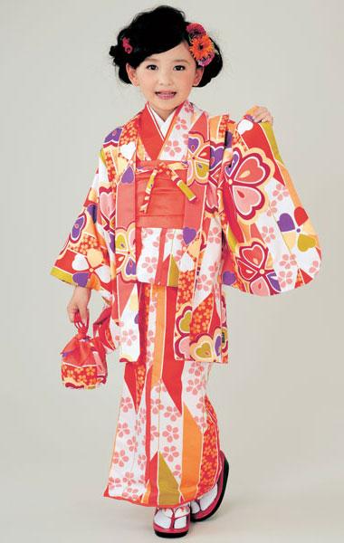 着物 6点セット Club H・L 女児用 9才~10才 新品 (株)安田屋_画像1