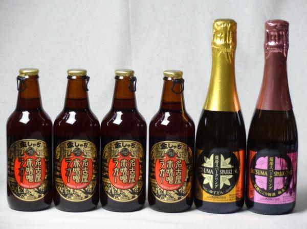 クラフトビールパーティ6本セット 名古屋赤味噌ラガー330_画像1