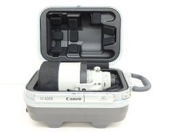 美品 CANON/キヤノン 小型軽量超望遠レンズ EF 400mm F4 DO IS II USM ハードケース付 ◆
