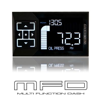 【2.4インチ液晶】ARK-DESIGN MFD 多機能メーター ブースト計 バキューム計 水温計 スピード タコメーター モニター 日本製 独立動作_画像1