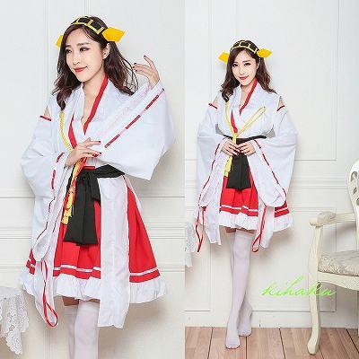 着物 ラブライブ風 アイドル コスプレ衣装 ハロウィン グッズの画像
