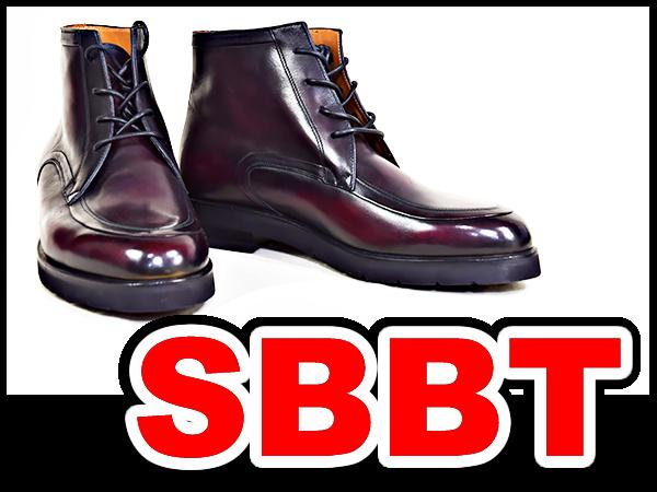 【SBBT】 Berluti  ベルルッティ  ビジネスシューズ ブーツ ♯7 25.5cm ワイン レザーシューズ カリグラフィー 本物 未使用_評価10以下の方は伊澤まで電話下さい