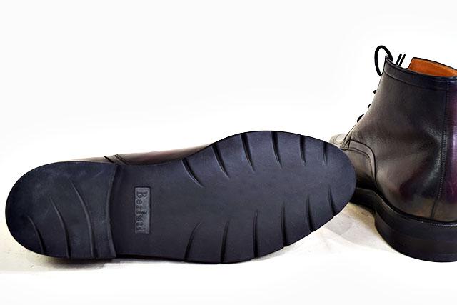 【SBBT】 Berluti  ベルルッティ  ビジネスシューズ ブーツ ♯7 25.5cm ワイン レザーシューズ カリグラフィー 本物 未使用_未使用のまま!