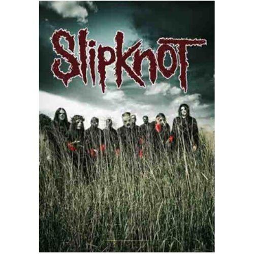 海外限定 公式 Slipknot スリップノット 特大布ポスター G93