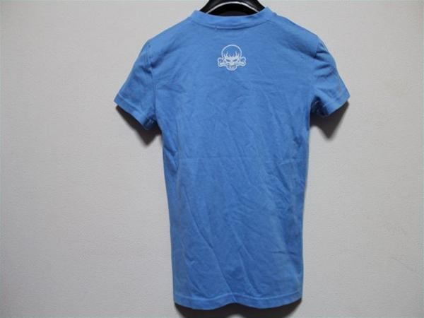 ロック&リパブリック ROCK&REPUBLIC レディース半袖Tシャツ ブルー 新品_画像4