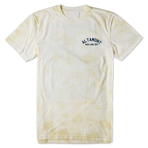 ALTAMONT HIGH AND DRY BEAR Tシャツ オルタモント ホワイト L