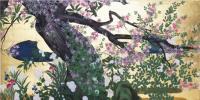 漆絵 長谷川等伯の名作_楓図・部分 絵画制作ユーラシアアート