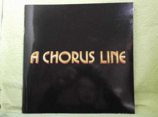 ◆パンフ ブロードウェイミュージカル コーラスライン2009年