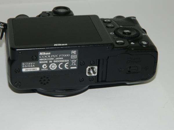 動作品 Nikon ニコン デジタルカメラ COOLPIX P7000 10.1メガピクセル 光学7.0倍 ブラック 付属有り 中古 即決 リサイクルマート半田店_画像10
