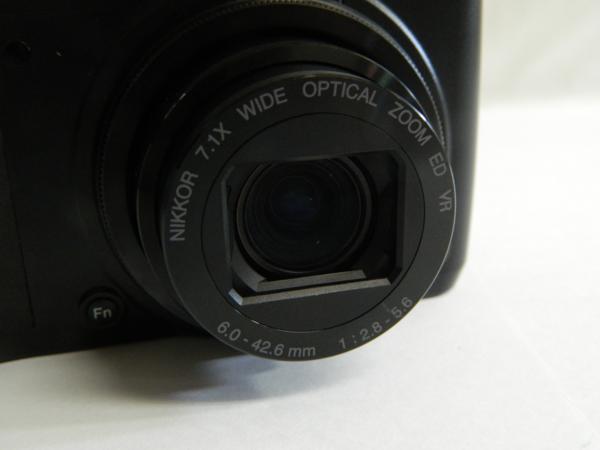 動作品 Nikon ニコン デジタルカメラ COOLPIX P7000 10.1メガピクセル 光学7.0倍 ブラック 付属有り 中古 即決 リサイクルマート半田店_画像3